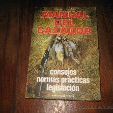 Libros de segunda mano: MANUAL DEL CAZADOR . Lote 8033224