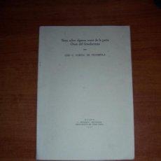 Libros de segunda mano: GUADARRAMA .NOTA SOBRE ALGUNAS ROCAS DE LA PARTE OESTE DEL GUADARRAMA. Lote 8128169