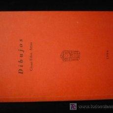 Libros de segunda mano: DIBUJOS, CESAR FDEZ. ARIAS. ED. ALDECOA. BURGOS. 1994 40 PAG.. Lote 12000902