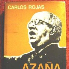 Libros de segunda mano: AZAÑA, DE CARLOS ROJAS. PREMIO PLANETA 1973.. Lote 26498503