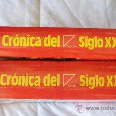 Libros de segunda mano - CRONICA DEL SIGLO XX - 2 TOMOS - Diario 16 *SIN DESPRECINTAR* - 8205888