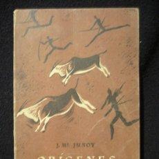 Libros de segunda mano: ORIGENES DEL ARTE. J.M. JUNOY. SEIX Y BARRAL HNOS. 1945 62 PAG.. Lote 10727182