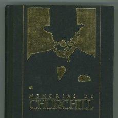 Libros de segunda mano: MEMORIAS DE CHURCHILL.. Lote 26763202
