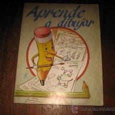 Libros de segunda mano: APRENDE A DIBUJAR . Lote 9757635