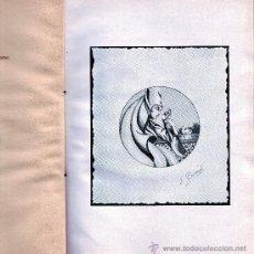Libros de segunda mano: MENSAJE. J. MARQUEZ PEÑA. VIGO 1955. EDICIÓN DE 500 EJEMPLARES. Lote 15586955