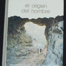 Libros de segunda mano: BIBLIOTECA SALVAT DE GRANDES TEMAS. Nº 8. EL ORIGEN DEL HOMBRE. Lote 8432778