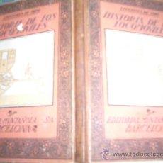 Libros de segunda mano: HISTORIA DE LOS LOCOMOVILES . Lote 15781275