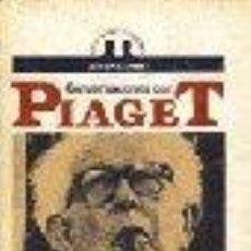 Libros de segunda mano: MIS TRABAJOS Y MIS DÍAS CONVERSACIONES CON JEAN PIAGET.-BRINGUER, JEAN CLAUDE GASTOS DE ENVIO GRATIS. Lote 8513989