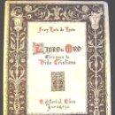 Libros de segunda mano: EL LIBRO DE ORO, GUIA PARA LA VIDA CRISTIANA, FRAY LUIS DE LEON, ZARAGOZA, 1942.. Lote 25716849