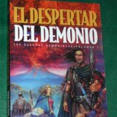 Libros de segunda mano: EL DESPERTAR DEL DEMONIO (LAS GUERRAS DEMONÍACAS VOL.1) DE R.A. SALVATORE. Lote 27136964