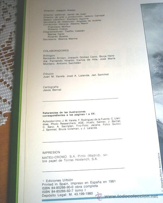 Libros de segunda mano: LA AVENTURA DE LA VIDA - FELIX RODRIGUEZ DE LA FUENTE - Foto 2 - 27604766