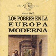 Libros de segunda mano: LOS POBRES EN LA EUROPA MODERNA (H-84). Lote 3446458
