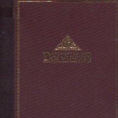Libros de segunda mano: ENCUENTRO DE DOS MUNDOS. EL DESCUBRIMIENTO (SIGLOS XV Y XVI) (VI-33). Lote 86072872
