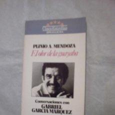 Libros de segunda mano: EL OLOR DE LA GUAYABA, CONVERSACIONES CON PLINIO APULEYO MENDOZA DE GABRIEL GARCÍA MÁRQUEZ(BRUGUERA. Lote 13655847