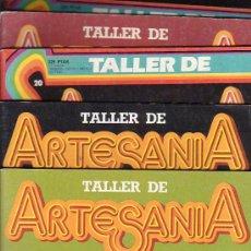 Libri di seconda mano: TALLER DE ARTESANIA - MANUALIDADES , LOTE DE 28 EJEMPLARES. Lote 14039893