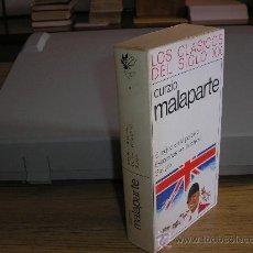 Libros de segunda mano: EL INGLÉS EN EL PARAISO-EVASIÓN EN LA CARCEL- SANGRE (CURZIO MALAPARTE). Lote 27077718