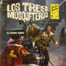 Libros de segunda mano: LOS TRES MOSQUETEROS. ALEJANDRO DUMAS. 1978. Lote 26437023