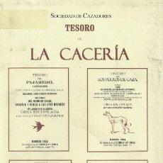 Libros de segunda mano: TESORO DE LA CACERIA (CP-5). Lote 3432505