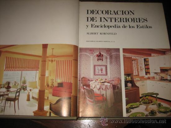 Decoracion de interiores y enciclopedia de los comprar en todocoleccion 10443948 - Decoracion segunda mano ...