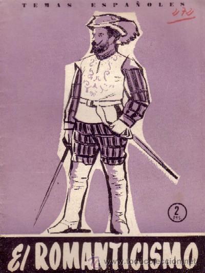 ROMANTICISMO ESPAÑOL (A/ TESP- 080) (Libros de Segunda Mano - Historia - Otros)