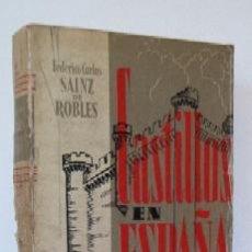 Libros de segunda mano: CASTILLOS EN ESPAÑA - SU HISTORIA - SU ARTE - SUS LEYENDAS. Lote 26956600