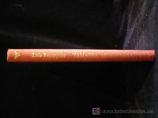 LUIS VERENGUER. TAMATEA, NOVIA DEL OTOÑO. MONDADORI. 1988 203 PAG (Libros de Segunda Mano (posteriores a 1936) - Literatura - Otros)