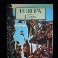 Libros de segunda mano: EUROPA. J.LEYVA. MONDADORI. 1988 180 PAG.. Lote 9081902