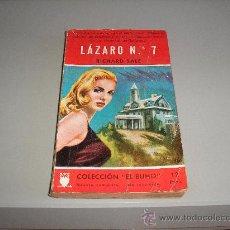 Livres d'occasion: LÁZARO Nº 7 (RICHARD SALE). Lote 9123750