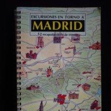 Libros de segunda mano: EXCURSIONE EN TORNO A MADRID. ESCAPADAS FIN DE SEMANA. BLANCO Y NEGRO. EL PAIS AGUILAR. 108 PAG. Lote 9181610