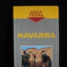 Libros de segunda mano: NAVARRA. GUIA TOTAL. ED. ANAYA 152 PAG. Lote 9181898