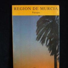 Libros de segunda mano: MURCIA. PAISAJES . EDITA GOBIERNO DE MURCIA. 20X16- 40 PAG. Lote 9182680