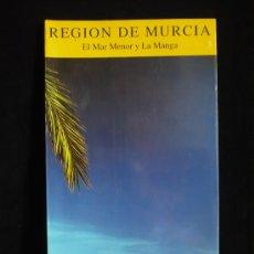 Libros de segunda mano: MURCIA. EL MAR MENOR Y LA MANGA. EDITA GOBIERNO DE MURCIA. 20X16- 40 PAG. Lote 9182727