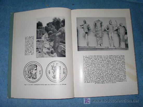 Libros de segunda mano: LOS JUEGOS OLIMPICOS ANTIGUOS - CONRADO DURANTEZ - BELLAMENTE ILUSTRADO. - Foto 4 - 16122581