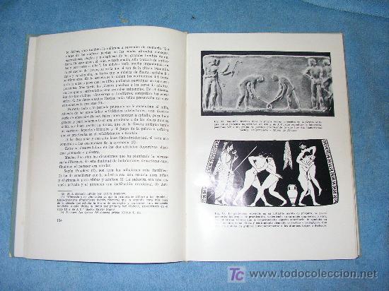 Libros de segunda mano: LOS JUEGOS OLIMPICOS ANTIGUOS - CONRADO DURANTEZ - BELLAMENTE ILUSTRADO. - Foto 3 - 16122581