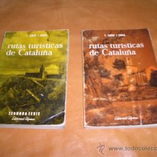 Libros de segunda mano: RUTAS TURISTICAS DE CATALUÑA. Lote 9357177