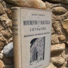 Libros de segunda mano: R.ALIBERCH: MONUMENTOS Y MARAVILLAS DE CATALUÑA. ARQUEOLOGIA-NATURALEZA-INDUSTRIA, ED. FREIXINET. Lote 24652180