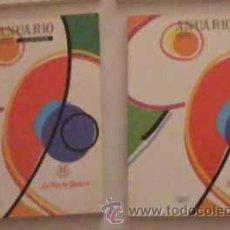 Libros de segunda mano: ANUARIO DE GALICIA EN 1990 EN DOS TOMOS. Lote 15099171