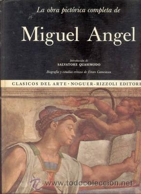 LA OBRA PICTORICA COMPLETA DE MIGUEL ANGEL (Libros de Segunda Mano - Bellas artes, ocio y coleccionismo - Otros)