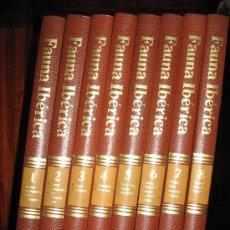 Libros de segunda mano: FAUNA IBÉRICA. Lote 24399265