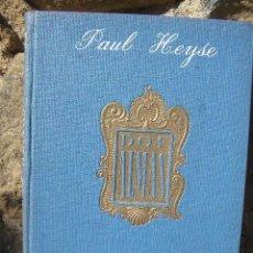 Livres d'occasion: PAUL HEYSE: DOS ALMAS, ED.APOLO 1941. Lote 21774438