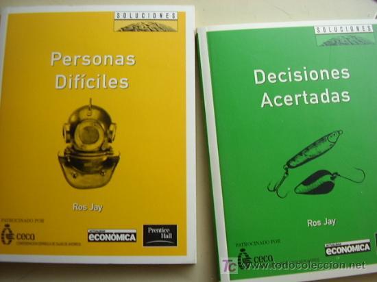 2 libros, decisiones acertadas y personas difíc - Vendido en