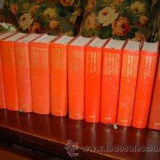 Libros de segunda mano: OBRAS ESCOGIDAS DE AGATHA CHRISTIE ONCE TOMOS. Lote 26421593