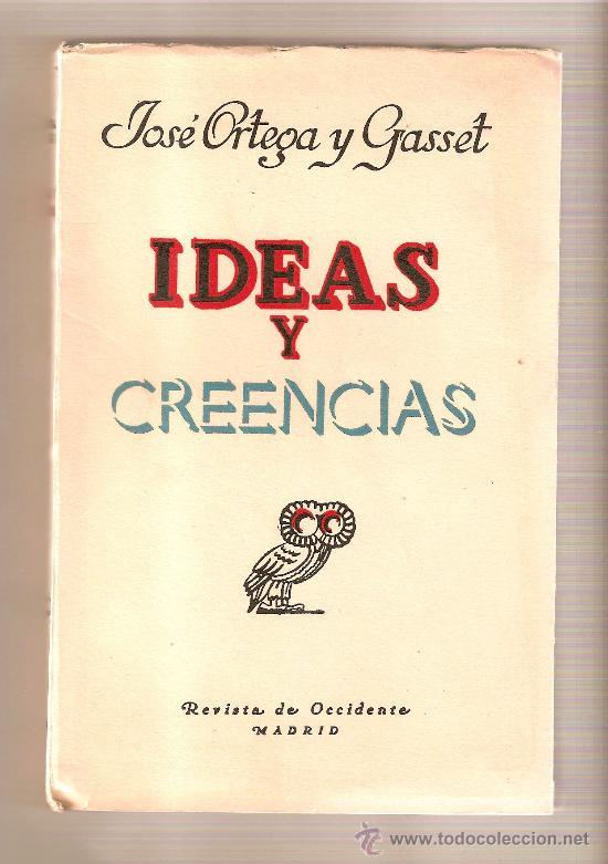 JOSE ORTEGA Y GASSET LIBROS PDF
