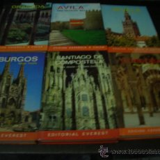 Libros de segunda mano: GUIAS EVEREST LOTE DE 6 CIUDADES ESPAÑOLAS . Lote 16020985