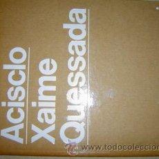 Libros de segunda mano: ACISCLO MANZANO Y XAIME QUESSADA CUADERNOS DE ARTE GALLEGO. Lote 47084306