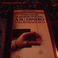 Libros de segunda mano: LIBRO COMO SACAR EL MAXIMO PARTIDO A SU DINERO PARA RETIRARSE RICO. Lote 1707980