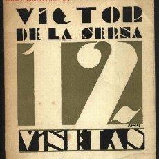 Libros de segunda mano: 12 VIÑETAS, POR VICTOR DE LA SERNA. EDICIÓN FACSÍMIL DE LA PRIMERA DE 1929. SANTANDER, CANTABRIA. Lote 24305541