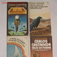 Libros de segunda mano - Cuatro libros de Carlos Castañeda. Literatura fantástica, esoterismo, chamanismo, (en inglés) 1976 - 23587759