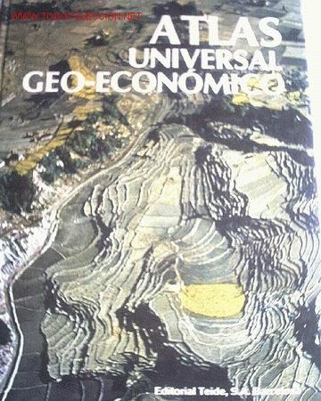 ATLAS UNIVERSAL GEO- ECONOMICO 1979 (Libros de Segunda Mano - Historia - Otros)