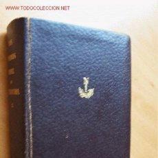 Libros de segunda mano: LOS PREMIOS NOBEL DE LITERATURA TOMO IX. JOSÉ JANÉS EDITOR. 1964. 1743 PÁGINAS. Lote 20460694